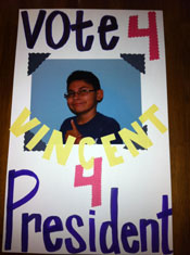 School Election Poster