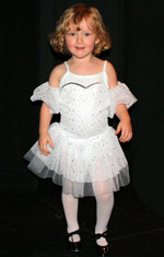 Girl in Dance costume