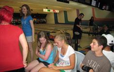 Teens Bowling