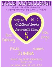 Oklahoma Childhood Stroke Awareness Day