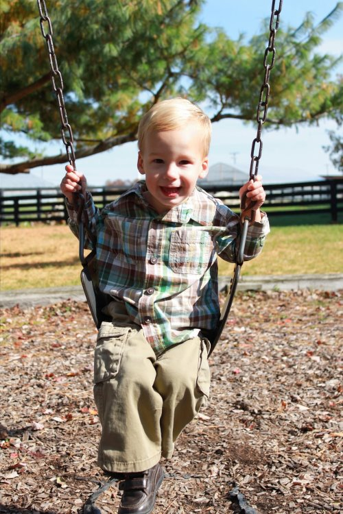Brody Had a Stroke Before He was Born – He's a survivor!