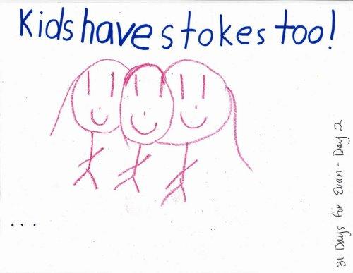 Oliva's Streak for Pediatric Stroke Blog Day 2