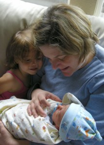 Evan, Newborn Pediatric Stroke Survivor