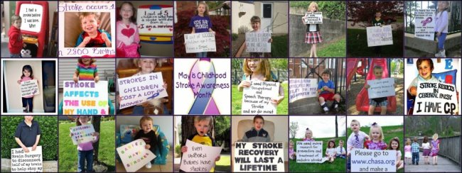 Pediatric Stroke Awareness Month Press Release