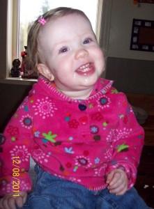 Caitlyn, Pediatric Stroke Survivor Crawls