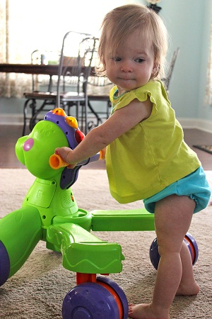 Baby Steps: Infant with Hemiplegia after Strokes Tackles Walking