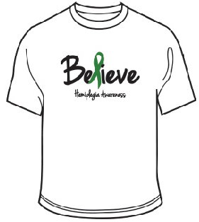 Hemiplegia Awareness Shirt