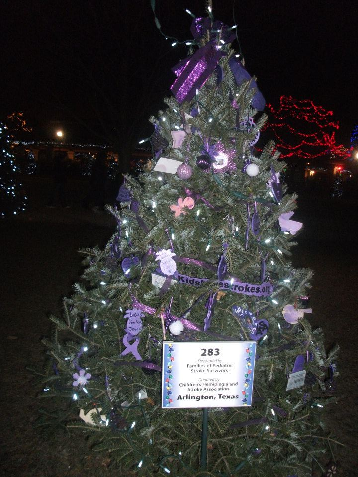 Pediatric Stroke Awareness Tree