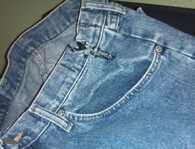 Altering Jeans for Individuals with Hemiplegia