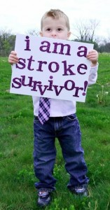 Pediatric Stroke Awareness Month - Survivor