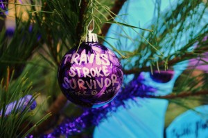 Disability support during the holidays ornament